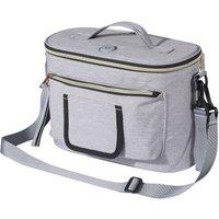 Asupermall - Portable UV Light Sterilizer Bag UVC USB Multifunctional Bag Ultraviolet Light Disinfection Bag Cleaner Box with Handle for Phone / Mask