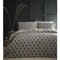 Portfolio Bali Natural Double Duvet Cover Set Reversible Bedding Bed Set Quilt - BEDMAKER