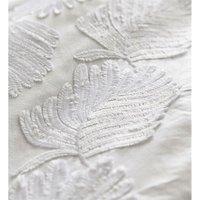 Portfolio Fairmont Double Duvet Cover Set White Feather Textured Bedding