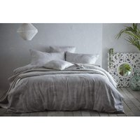 Portfolio Prestige Hot House Dove Grey Super King Duvet Cover Set Bedding Bed Set