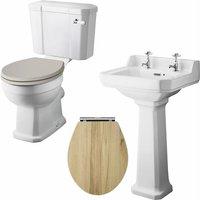 Richmond Traditional Bathroom Suite 500mm Basin - Nuie