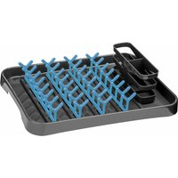 Grey and Blue Dish Drainer - Premier Housewares