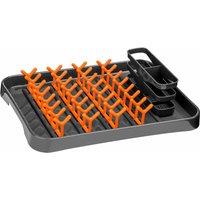 Grey and Orange Dish Drainer - Premier Housewares