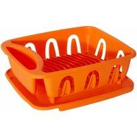 Orange Plastic Dish Drainer - Premier Housewares