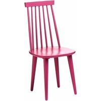 Premier Housewares Vermont Raspberry Wood Herning Chair