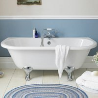 Hudson Reed Kenton Back to Wall Freestanding Bath 1700mm x 750mm - Corbel Leg Set