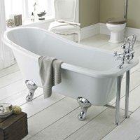 Kensington Freestanding Slipper Bath 1700mm x 730mm - Corbel Leg Set - Hudson Reed