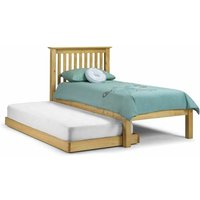 Premium Pine Finish Hideaway Shaker Style Low Foot End Bed - 2 x Single 3ft (90cm) - ASHFIELD PINE BEDS