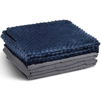 Premium Weighted Blanket Gravity Blankets With Cotton Cover Sensory Sleep Relax 12.69kg - COSTWAY