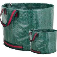 Garden cleaning bags 500L 80 x 100 cm 2 units - Primematik