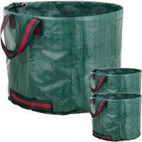 Garden cleaning bags 60L 40 x 30 cm 3 units - Primematik