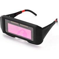 Professional Solar Energy Auto Darkening Welding Safety Goggles Anti-glare UV Weld Glasses