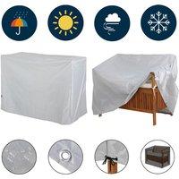 Garden Bench Cover Kingsleeve Covering Protection Patio Tarpaulin 420 Oxford Abdeckung 2-Sitzer (de) - DEUBA