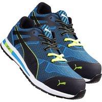 Puma 643060 Blaze Knit Low Safety Trainer - Blue Size 9