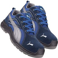 Puma 643610 Omni Sky Low Safety Trainer Blue/White Size 7