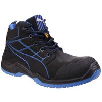 Puma Mens Krypton Lace Up Safety Boots (8 UK) (Blue)