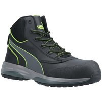 Puma Mens Leather Safety Boots (6.5 UK) (Green/Black)