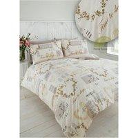 Pure Natural Single Quilt Duvet Cover Set Bedding Bed Set