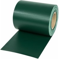 PVC privacy film - privacy screen, plastic privacy film, privacy film - green, 70 m - TECTAKE