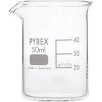 Pyrex Beaker Low Form 50ML 1000/02M (Single)