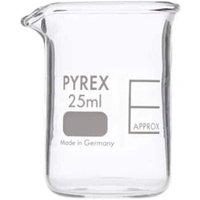 Pyrex Beaker Low Form 25ML 1000/11M (Single)
