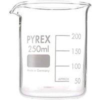 Pyrex Beaker Low Form 250ML 1000/10D (Single)