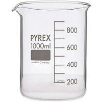 Beaker Low Form 1000ML 1000/22D (Single) - Pyrex
