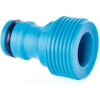 Quantum Garden - Blue Line - 1/2 Accessory or Tap Connector - Male Thread