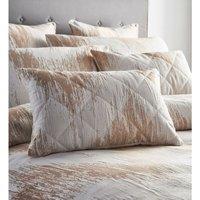 Quartz Shimmer Jacquard Double Duvet Cover Set Bedding Quilt Rose Gold - BEDMAKER