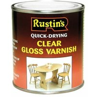 Quick Dry Varnish Gloss Clear 1 Litre (RUSQDVGC1L)