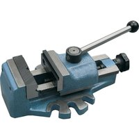 80MM Quick Grip Drill Press Vice Fixed Jaw - Indexa
