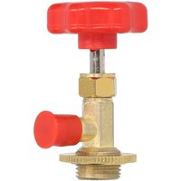 R134a Open Valve Refrigerante Bottle Opener Air Conditioner Tools Fits for R134A Automotive Air Conditioning Charging,model:Red