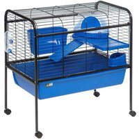 Rabbit Cage 88 x 53 x 90 cm - with movable feet. for rabbit. - FLAMINGO