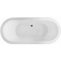 RAK DKM Double Ended Oval Bath 1800mm x 800mm - Acrylic - RAK CERAMICS