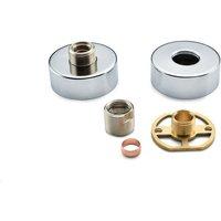 RAK Exposed Round Shower Bar Mixer with Easy Fitting Kit Pair - RAKSHW5003 - RAK CERAMICS