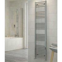 RAK Metropolitan Straight Ladder Towel Rail 600mm H x 500mm W - Chrome