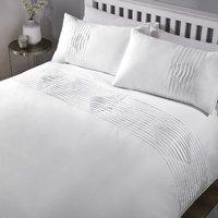 Boston Embellished Duvet Cover Set Bedding Bed Set Bedlinnen White Single - Rapport