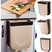 Rare Pearl Folding Kitchen Bin-9L Kitchen Bin with Cabinet D