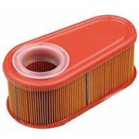 Ratioparts - Filtro dell'Aria Ovale per Tosaerba Briggs & Stratton, 140 x 70 x 57 mm, Colore: Arancione