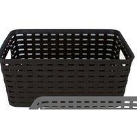 Rattan Storage Basket Brown