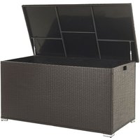 Rattan Storage Box 155 x 75 cm Brown MODENA - BELIANI