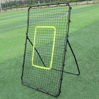 Rebounder Net Target Ball Kickback Soccer Goal Football Trai