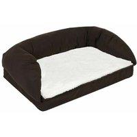 Rectangular orthopedic dog bed 90x60x30cm - MERCATOXL