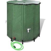 Récupérateur d'eau pluviale pliable 250L