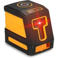Red light 2-wire laser spirit level shipped without battery orange without stand