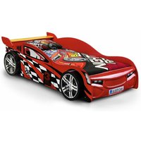 Red Race Car Bed Frame With Underbed Storage Drawer - Single - ASHFIELD CHILDRENS