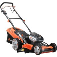 E148CVSET Self-Propelled Cordless Lawnmower (Special Offer) - Redback