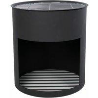 RedFire Fire Barrel Milshire Black Steel - Black