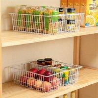Refrigerator Freezer Baskets Wire Storage Baskets Bin