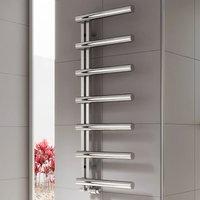 Reina Grosso Designer Heated Towel Rail 1250mm H x 500mm W Polished